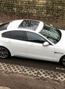 Jaguar XE in de schijnwerpers